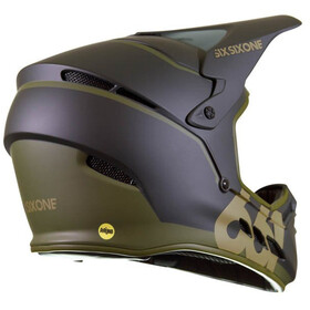 SixSixOne Reset MIPS Fullface Helm deep forest green
